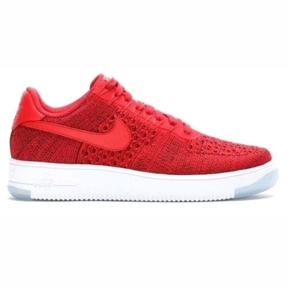 buy popular fe954 cd3ae Nike Air Force 1 Ultra Flyknit Low - Red - Size 12